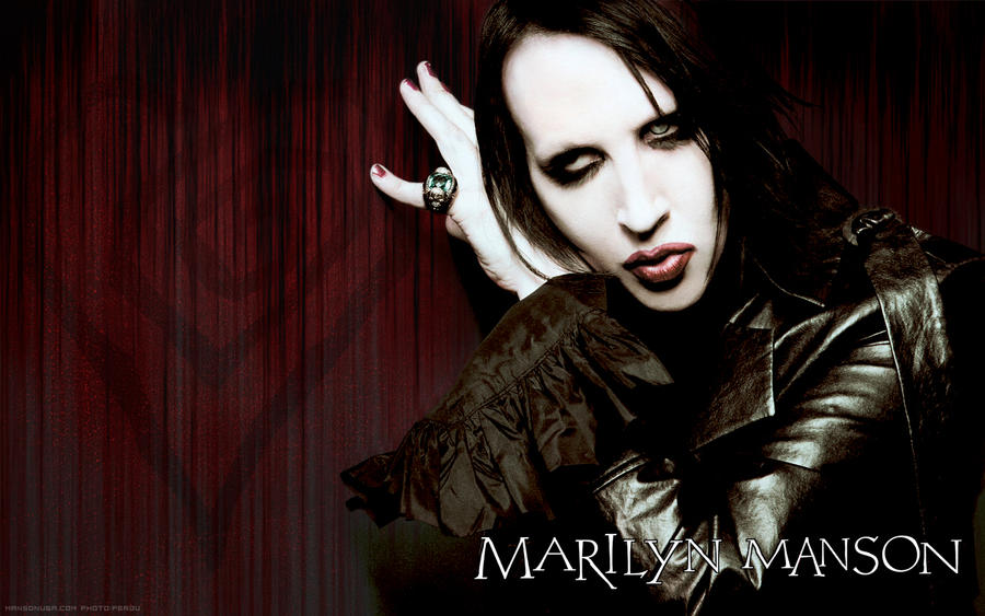 Marilyn manson wallpaper by frenchskinhead on deviantart bookmarktalkfo Images