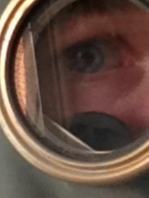 Eyepiece Selfie by BlueRibbonRedneck