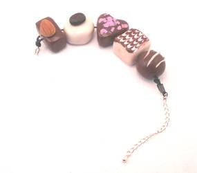 Handmade life-size chocolate bon-bon, truffle by MiniSweetx