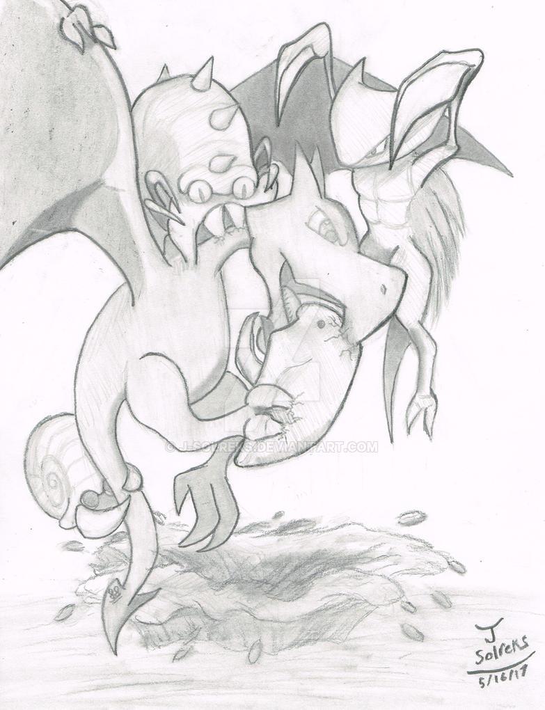 Prehistoric - Aerodactyl: Pokemon by J-Solreks