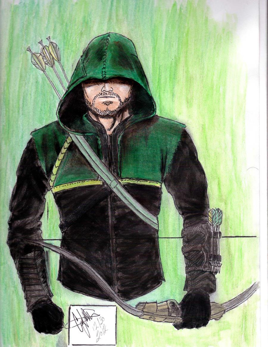 Green Arrow Color By CJRogue On DeviantArt