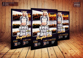 FREE .PSD: GTA STYLE CLUB FLYER