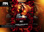 Valentine's Day Party Flyer Template