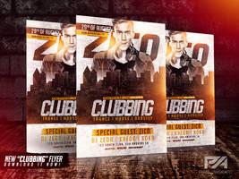 Clubbing Flyer Template by pawlowskiart