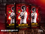 Eat Sleep Rave Repeat - Party Hard Flyer Template