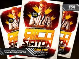 Special Guest DJ v4 PSD Flyer Template by pawlowskiart