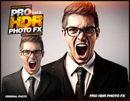 PRO HDR PHOTO FX vol.1 25 HDR Photoshop Actions by pawlowskiart