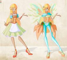 Auction: OC - Fairy of the Seasons [CLOSED] by Aryl-Phoenix