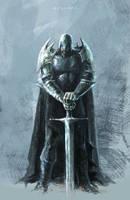 KNIGHT by darkpaganus