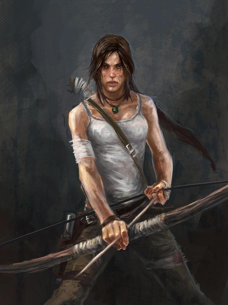 Lara Reborn ( Bikini and naked ) by IIReII on DeviantArt