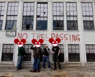Hey Deadmau5, No Trespassing by smsailorneptune