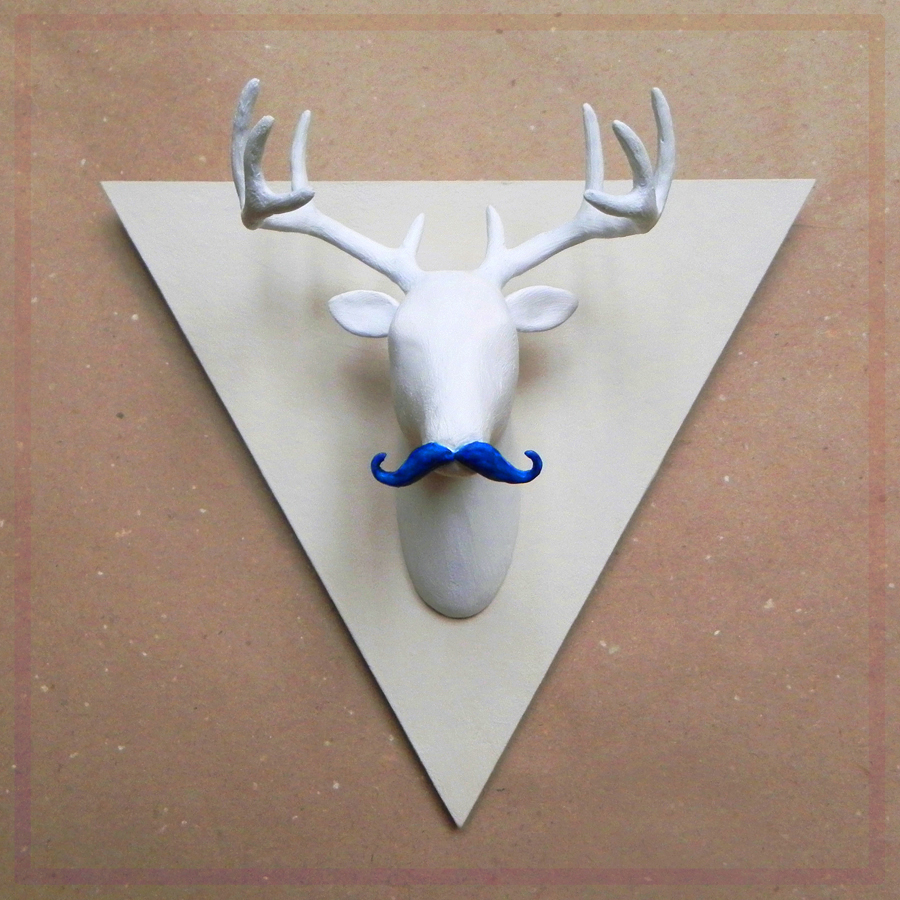 Craft a Moustache Contest: Oh, Deer! by spacepoppy