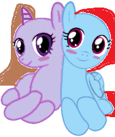Star winckle (ME) and Star light by Fluttershyart8884