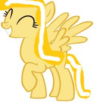 Sunny Sparkle Happy by Fluttershyart8884