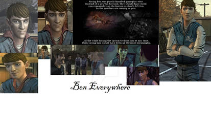 Ben everywhere by Darkanime2487