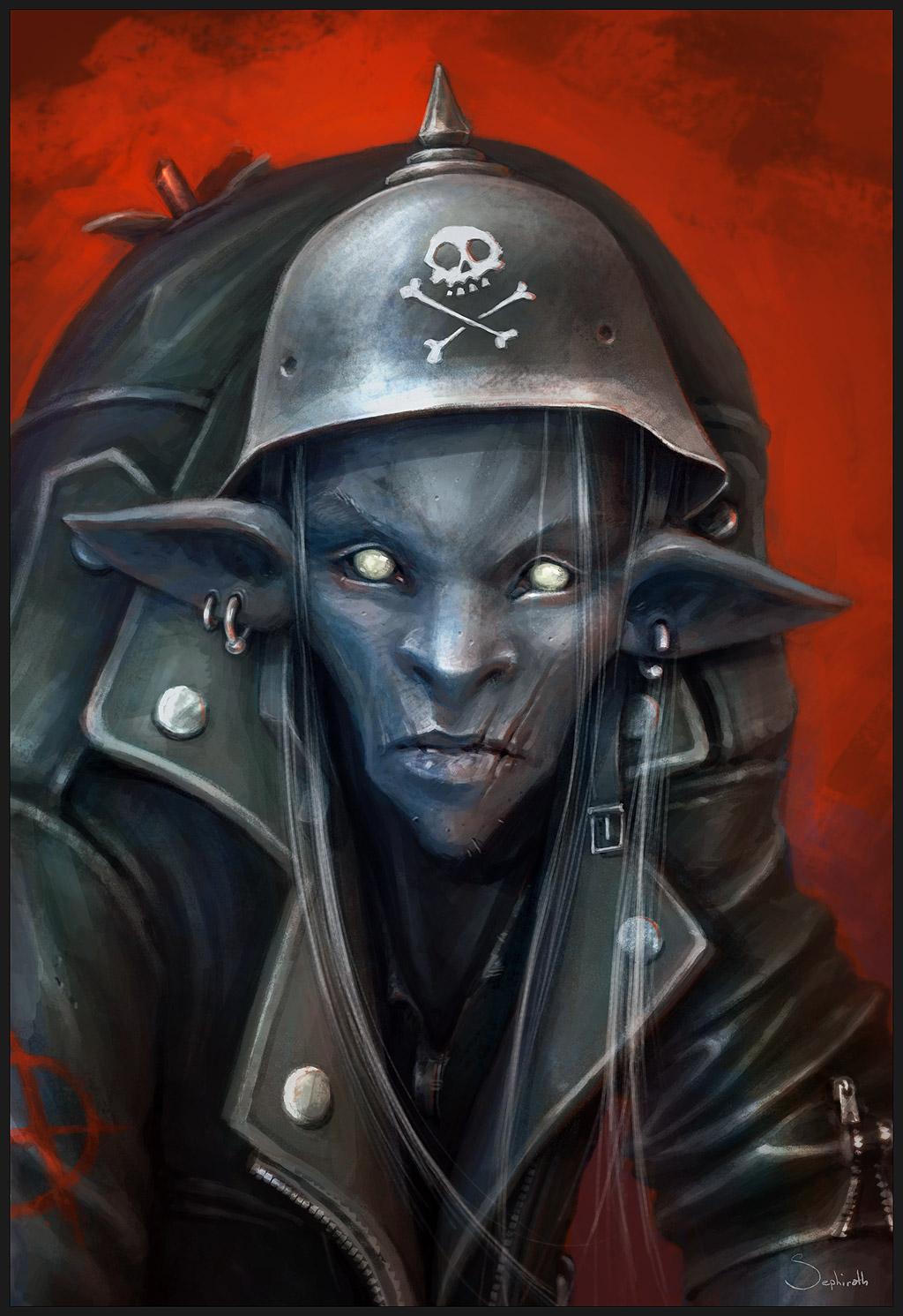 Punk's Not Dead by Sephiroth-Art