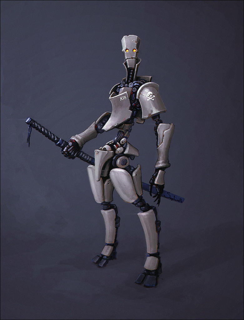 XIII Samurai by Sephiroth-Art
