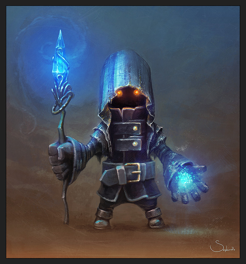 Black Mage by Sephiroth-Art