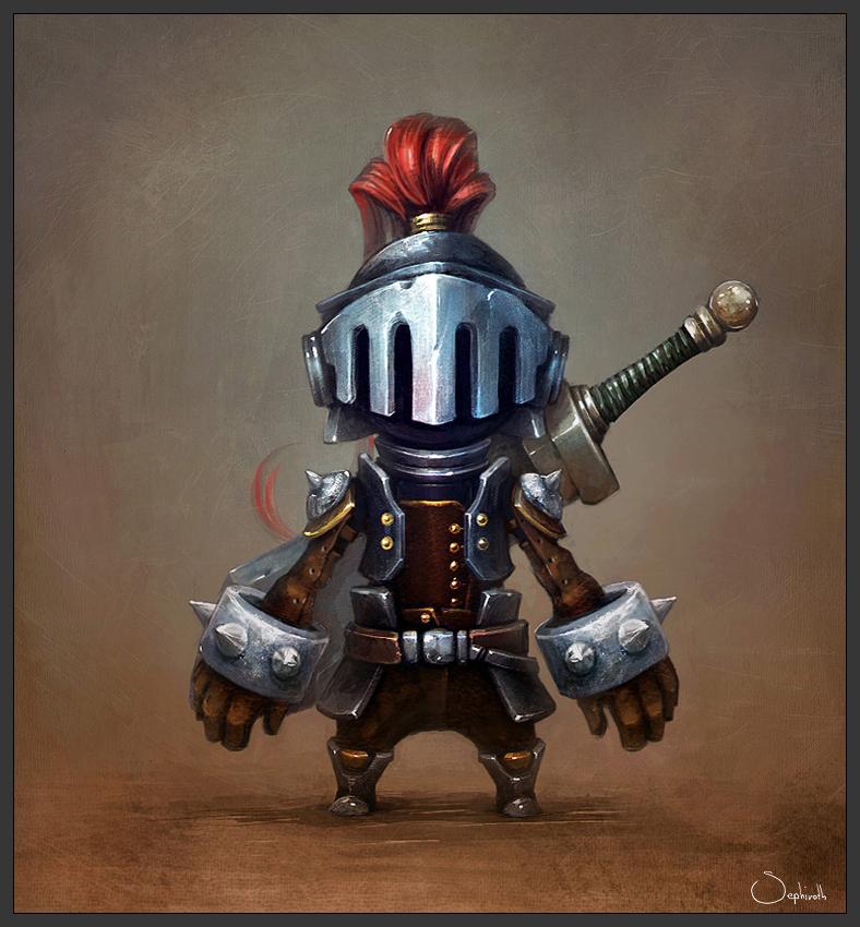 Knight by Sephiroth-Art