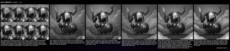 SLAVIC WARRIOR | Tutorial #2 by Sephiroth-Art