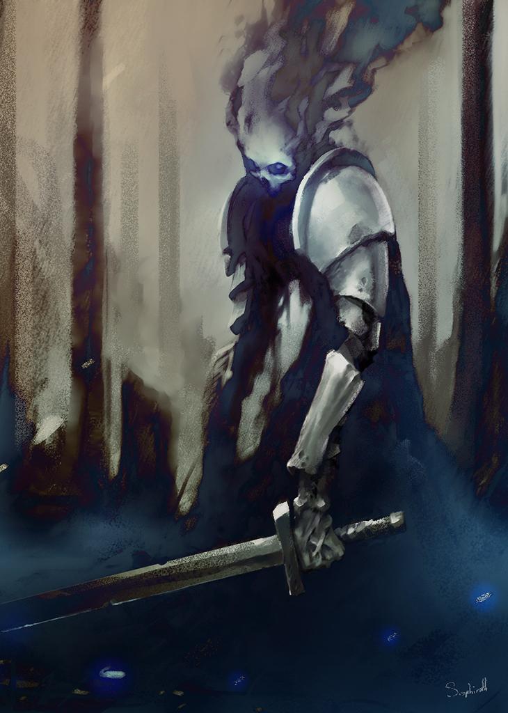 Forbidden Knight by Sephiroth-Art