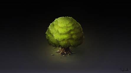 Isometric Tree  | VIDEO by Sephiroth-Art
