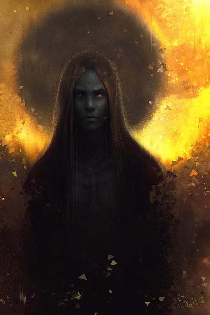 Dark Moon by Sephiroth-Art