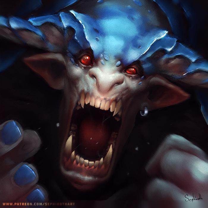 Rage | Patreon Promo by Sephiroth-Art