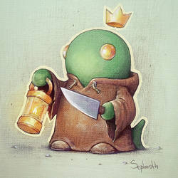 Tonberry King by Sephiroth-Art