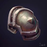 Shoulder Armor by Sephiroth-Art