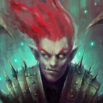 Red Hair Demon