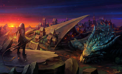 The Journey in The Sleeping Dragon City