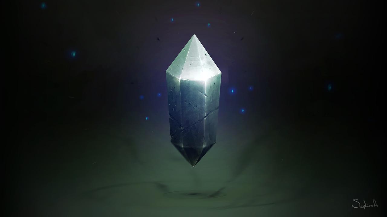 Black Crystal by Sephiroth-Art