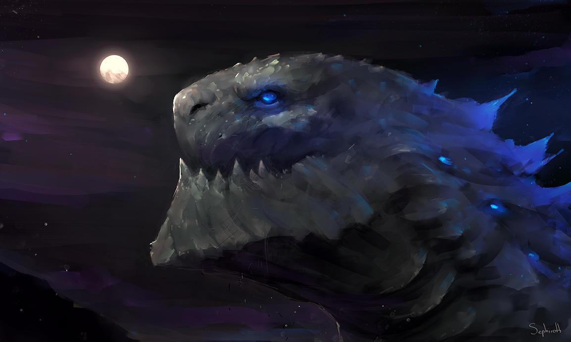 Godzilla! by Sephiroth-Art