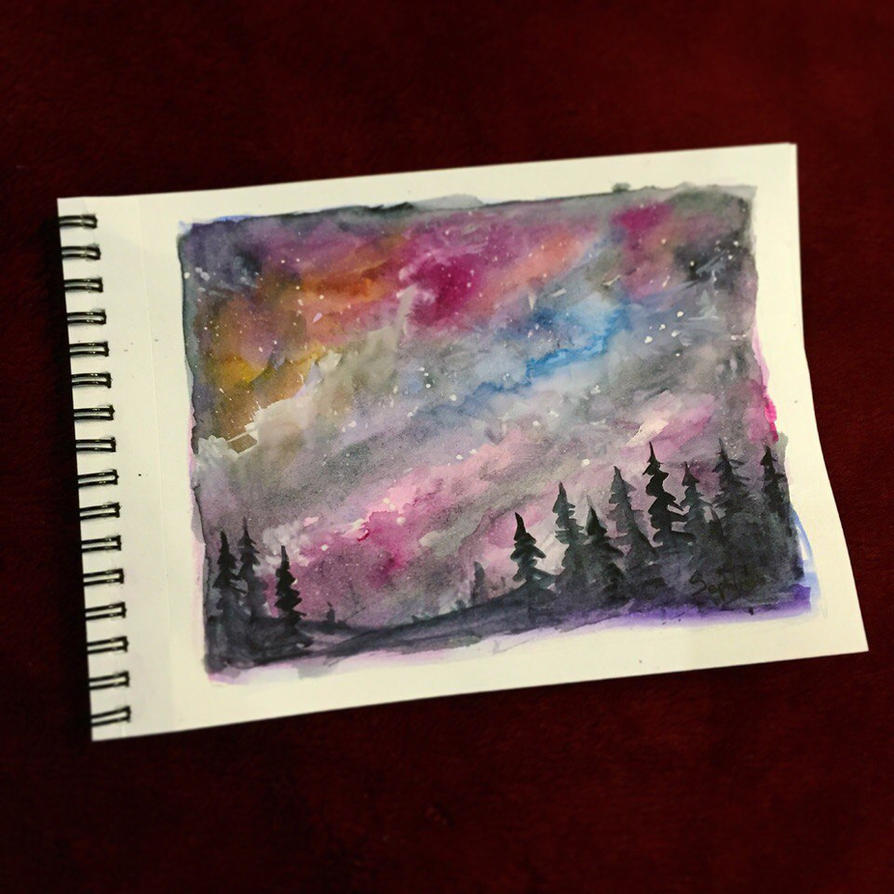 Night Sky by Sephiroth-Art