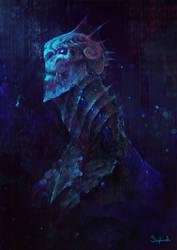 Merman by Sephiroth-Art