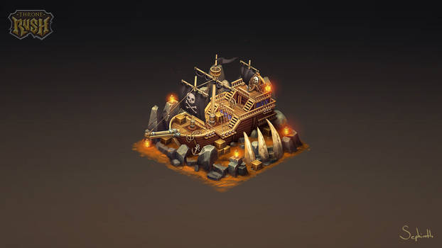 Isometric Pirate Ship