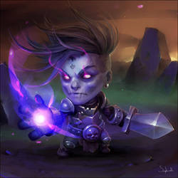 Evil Knight | Patreon Reward#9 by Sephiroth-Art