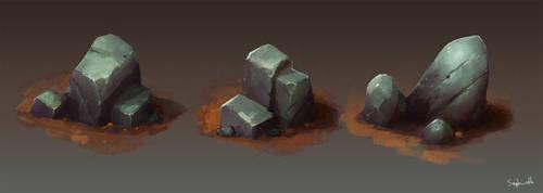Isometric Stones| Patreon Reward#9 by Sephiroth-Art