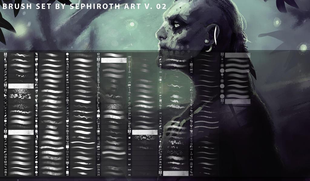 Sephiroth Art BrushSet by Sephiroth-Art