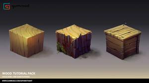 Wood Tutorial Pack by Sephiroth-Art
