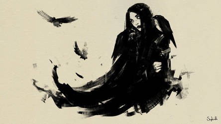 The Crow by Sephiroth-Art