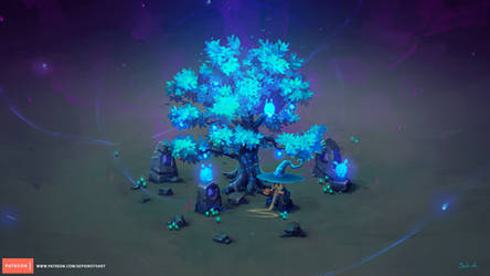Isometric Mana Tree Tutorial | Patreon