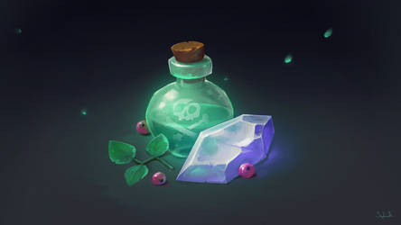 Magic Stuff by Sephiroth-Art