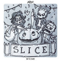 INKTOBER 2018 Day 31 - SLICE