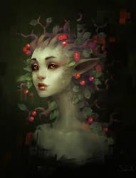 Driada by Sephiroth-Art