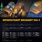 MY BRUSHES | SephirothArt Brushset vol.4 [2019]