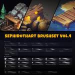 MY BRUSHES | SephirothArt Brushset vol.4 [2019]
