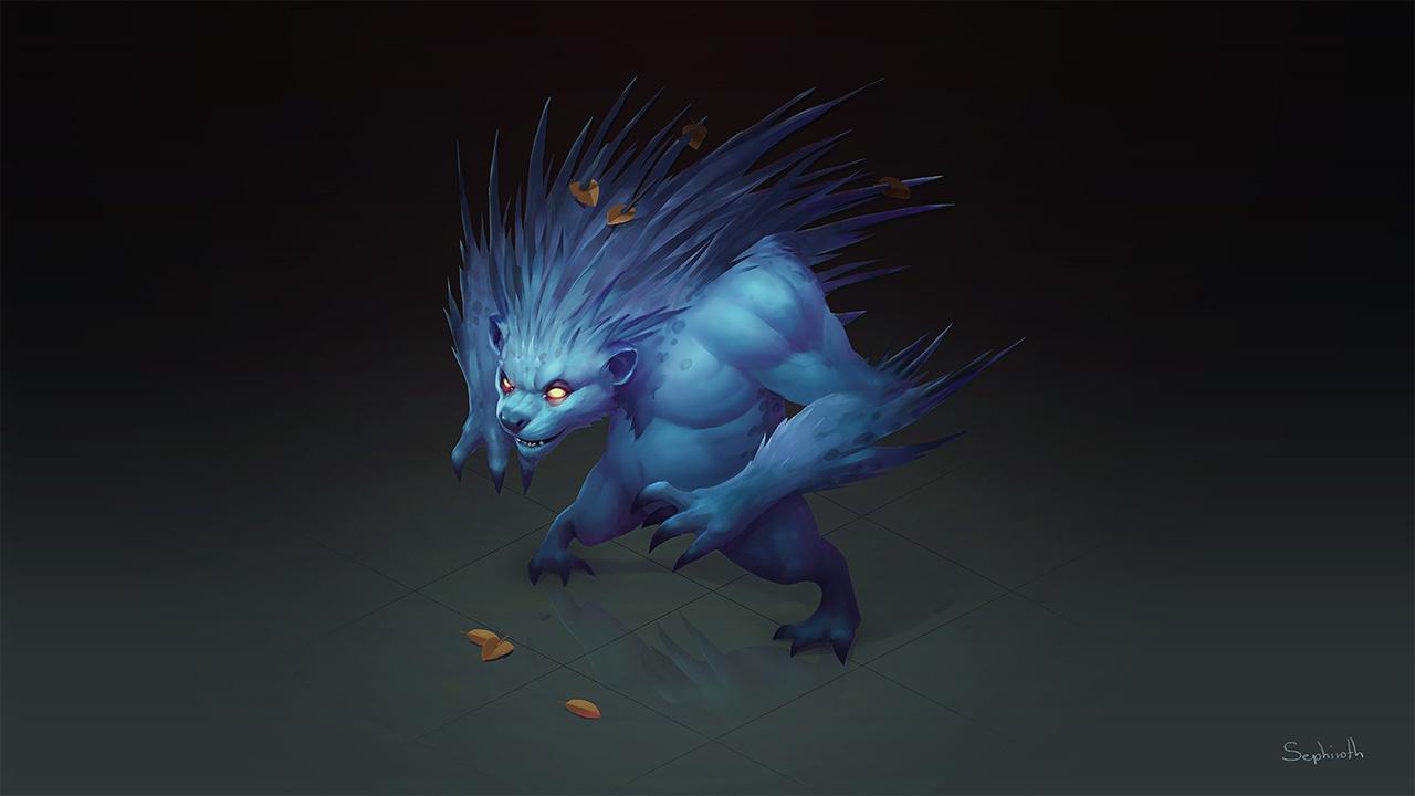 Hedgehog Monster