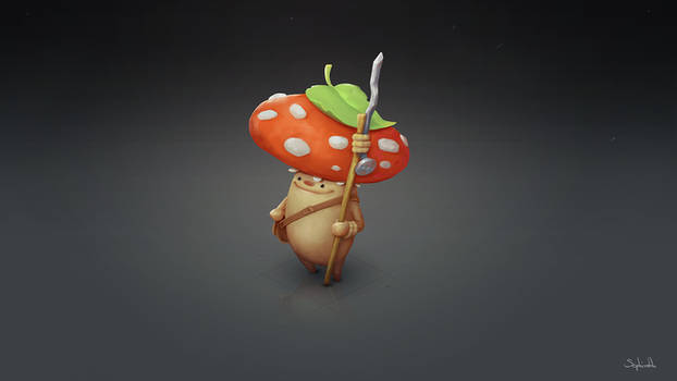 Mushroom Warrior